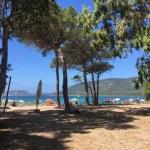 Luci anchored at Mugoni beach