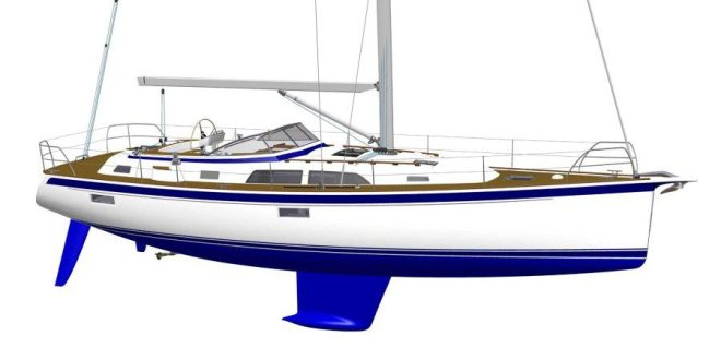 Sneak pre-view: the new Hallberg-Rassy 44 in production. VIDEO