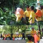 Pasukan kelas 3 Pembersih kebun bibit