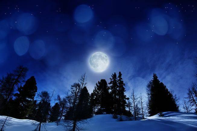 Snow Falling Live Wallpaper Download Une Pleine Lune Exceptionnelle Va Avoir Lieu Pour La