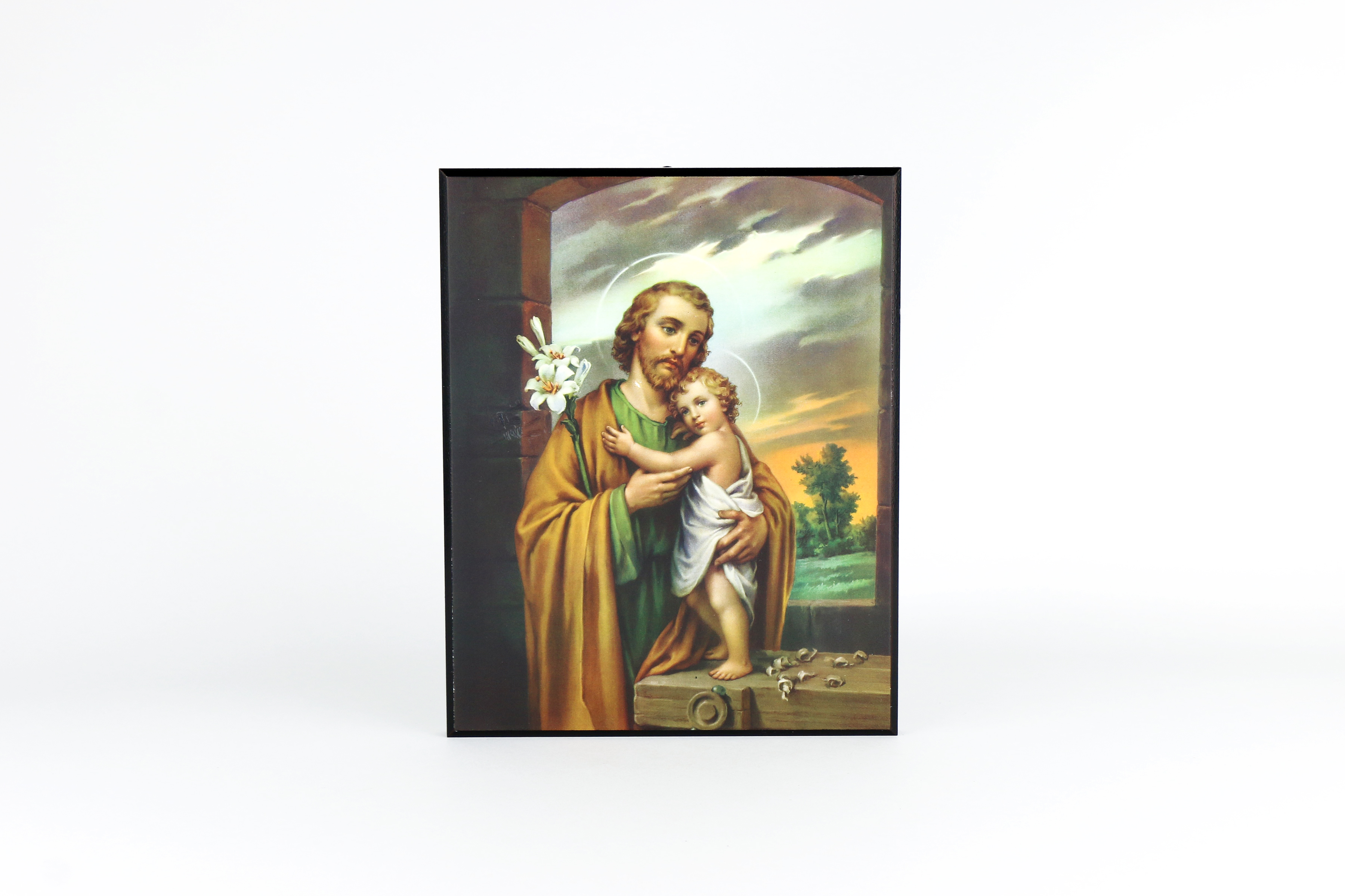 Joseph Und Joseph Plaque Of Saint Joseph And The Infant Christ