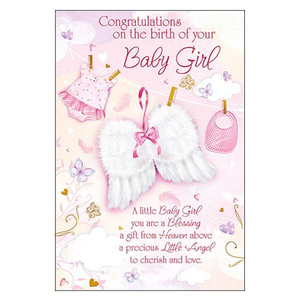 congratulation on new baby girl