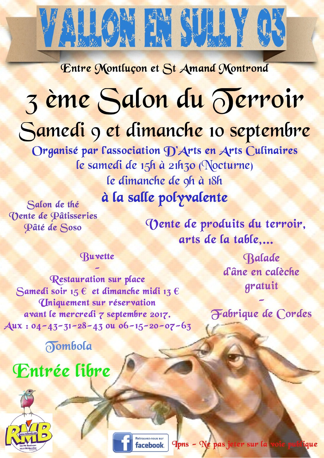 Salon Du Terroir Vallon En Sully 3ème Salon Du Terroir Saint Bonnet Tronçais
