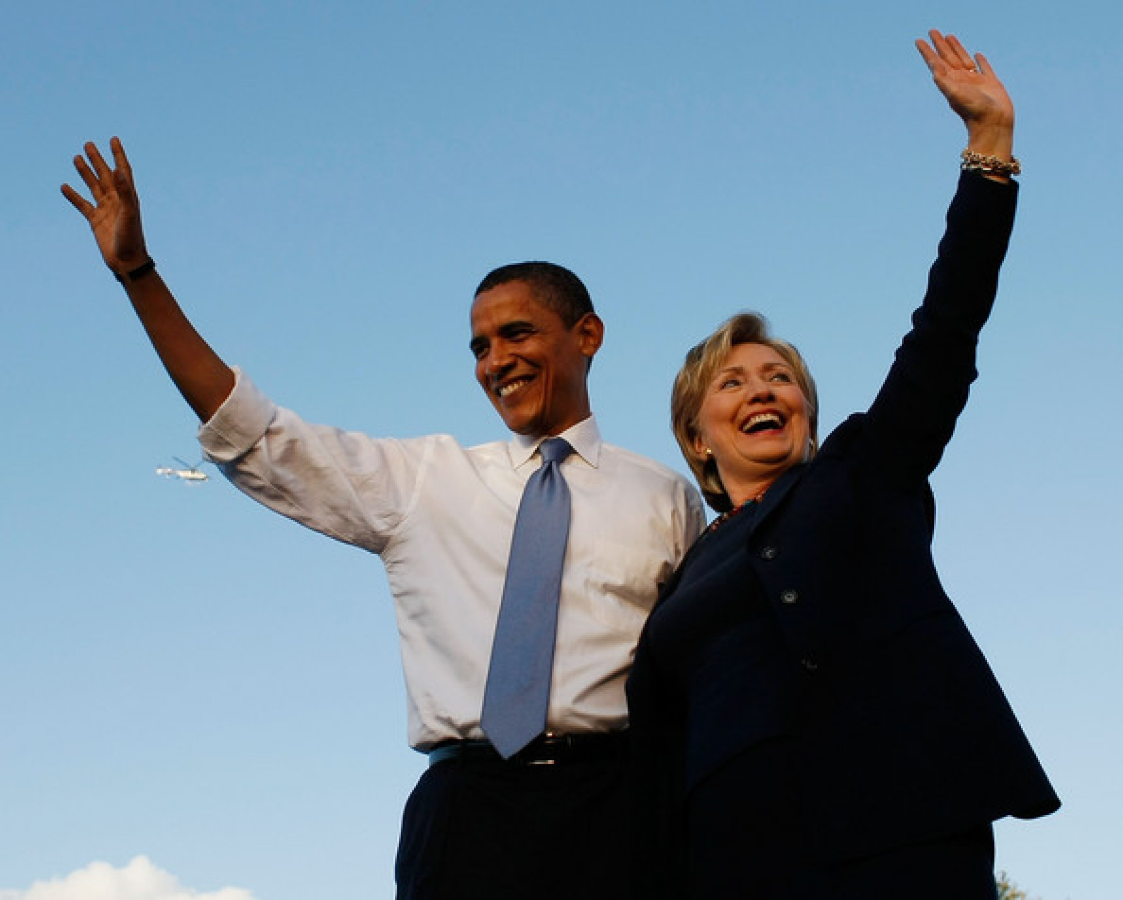 Hillary Clinton, Michelle Obama make first joint campaign appearance