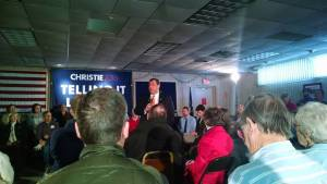Chris Christie on the campaign trail in New Hampshire Viahellip