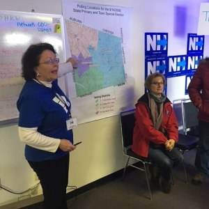 A Derby New Hampshire canvass event with Miami Beach Mayorhellip