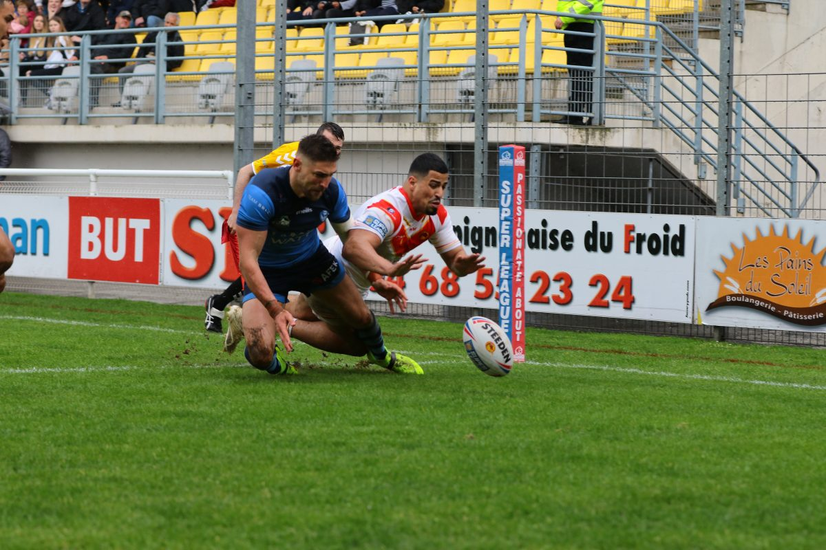 But Perpignan Saints Lose Out To Dogged Dragons In Perpignan St Helens R F C