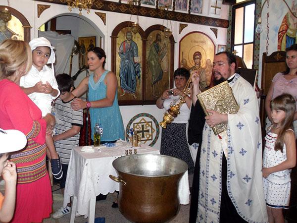 Priest performs sacred rites - PIPKA