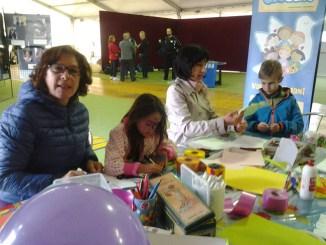 Children at Human Values Festival