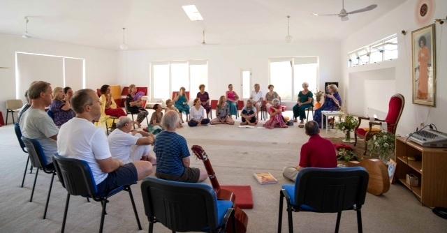 Camp at Sai Prema, Greece