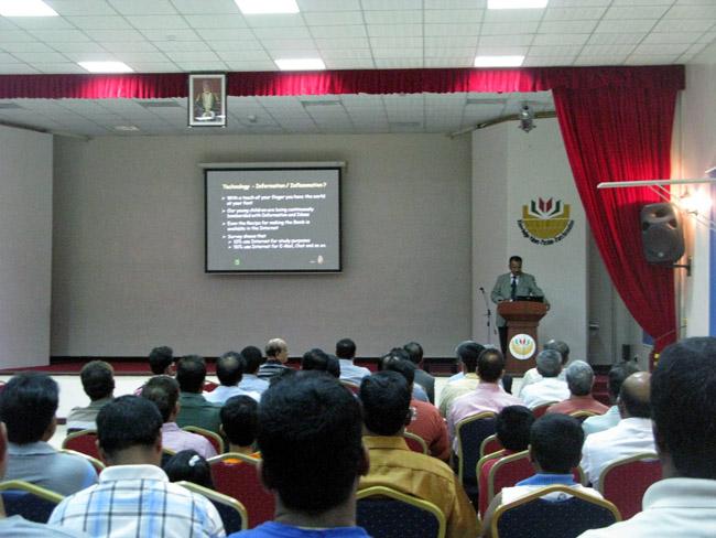 Presentation during EHV workshop in Oman