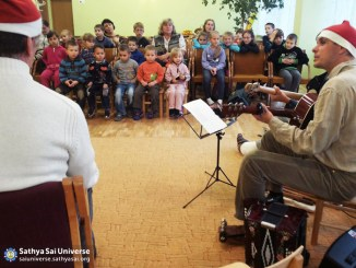 Music Programme at Children's Home