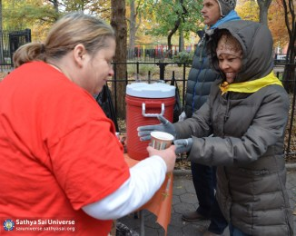 Serving the needy in New York