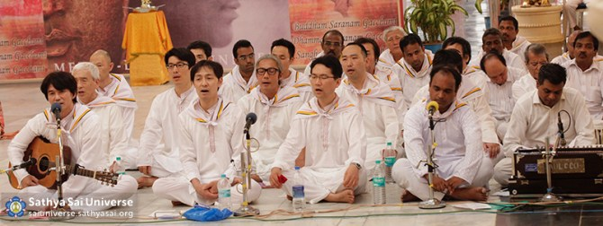 Buddha Purnima Choir - Mens side