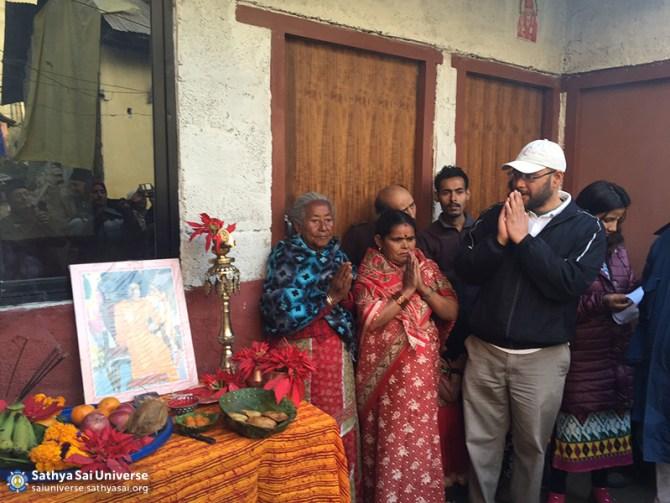 Z4 Nepal Inaguaration of the Sathya Sai House Kathmandu