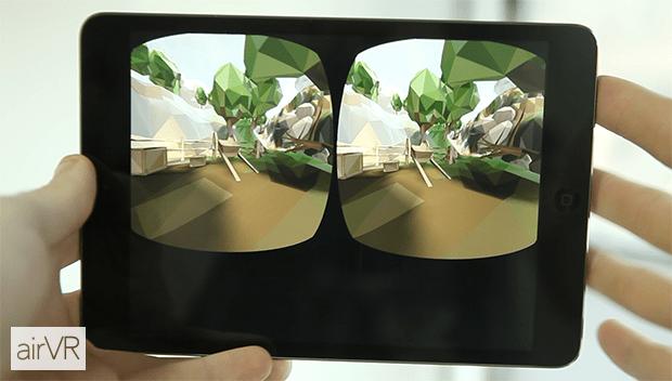VRが気軽に楽しめるAirVR