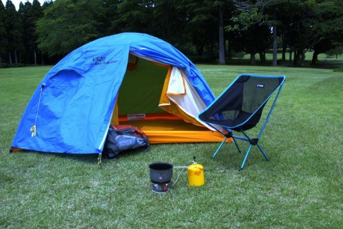 3.DUNLOP(ダンロップテント) 2人用コンパクト登山テント VS20 国内生産品 VS20
