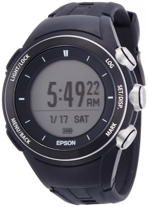 10.エプソン(EPSON) WRISTABLE GPS FOR TREK MZ-500B MZ-500S 1508 メンズ レディース