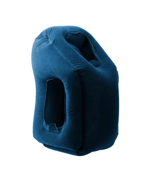 Woollip Travel Pillow_color blue