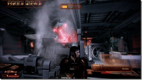 Mass Effect 2: Going against an Oculus