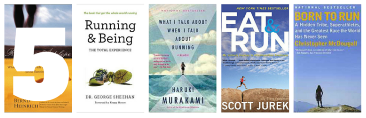 5 Running Books that Will Change Your Life