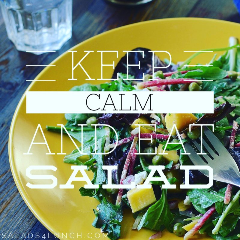 Keep Calm and Eat Salad, My September Routines + #MotivateMe Linkup
