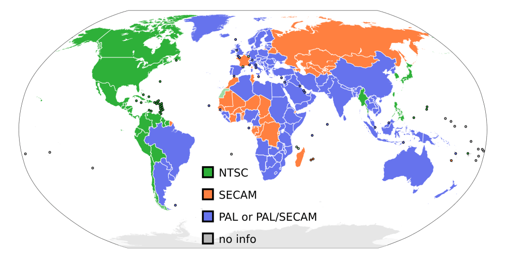 PAL-NTSC-SECAM
