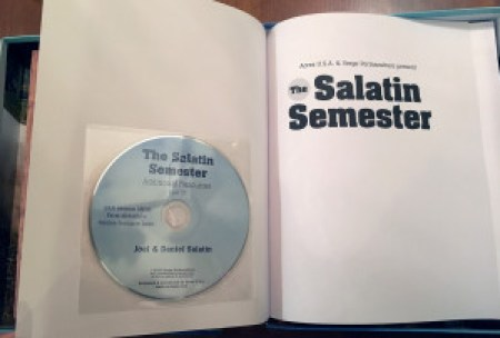 The Salatin Semester -- data disc