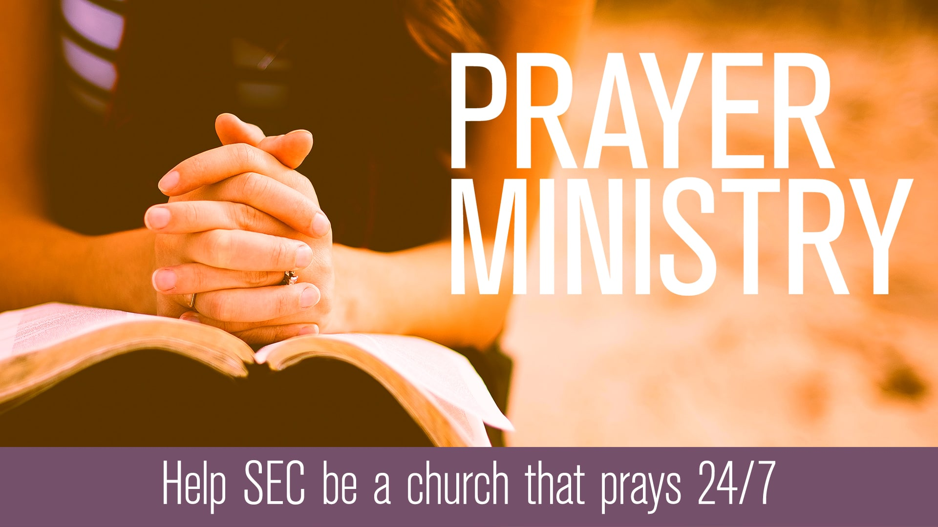 Prayer Ministry Salem Evangelical Church Prayer Ministry Salem Evangelical Church
