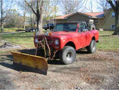 International Harvester Scout 1973, Just in time for winter! I have to