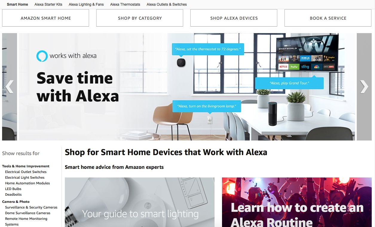 Amazon Smart Home How To Add The Works With Alexa Certification To Your Amazon Product