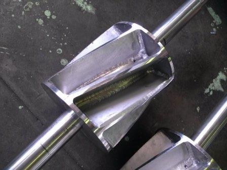 ロータリーバルブ機械加工