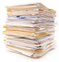pile of resumes
