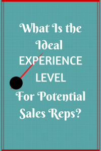 What Is the Ideal Experience Level