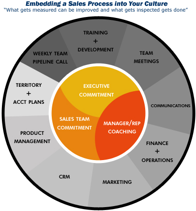 Embedding a Sales Process into Your Culture SALES MANAGEMENT