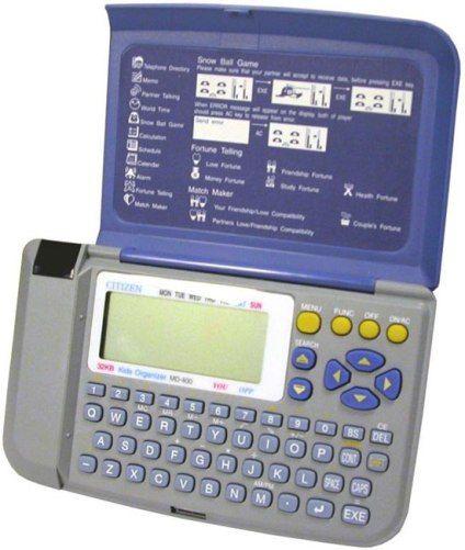Citizen MD-400 Multi-Function Kids Electronic Organizer, 32KB of