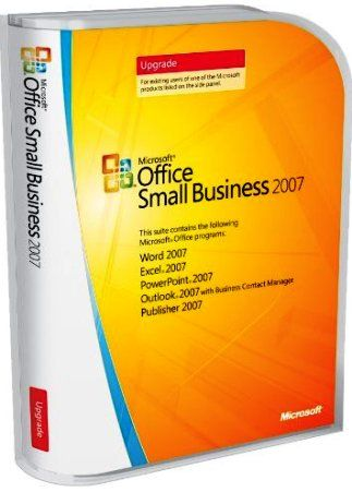 Microsoft W87-02379 Office Small Business 2007 Upgrade Upgrade - office cd