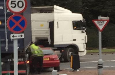 cadishead way A57 accident