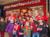 BHF Wear Red Day Eccles