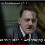 Brexit; Notes from the Berlin Bunker