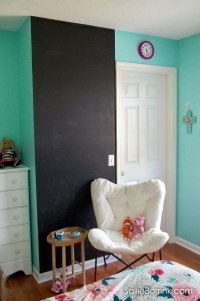 Chalkboard Walls in a Kid's Room and Chalk Allergy ...