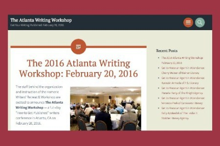 atlanta christian writers workshop