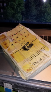The Weekend Novelist Yellow Tattered Book