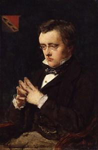 Portrait of Wilkie Collins