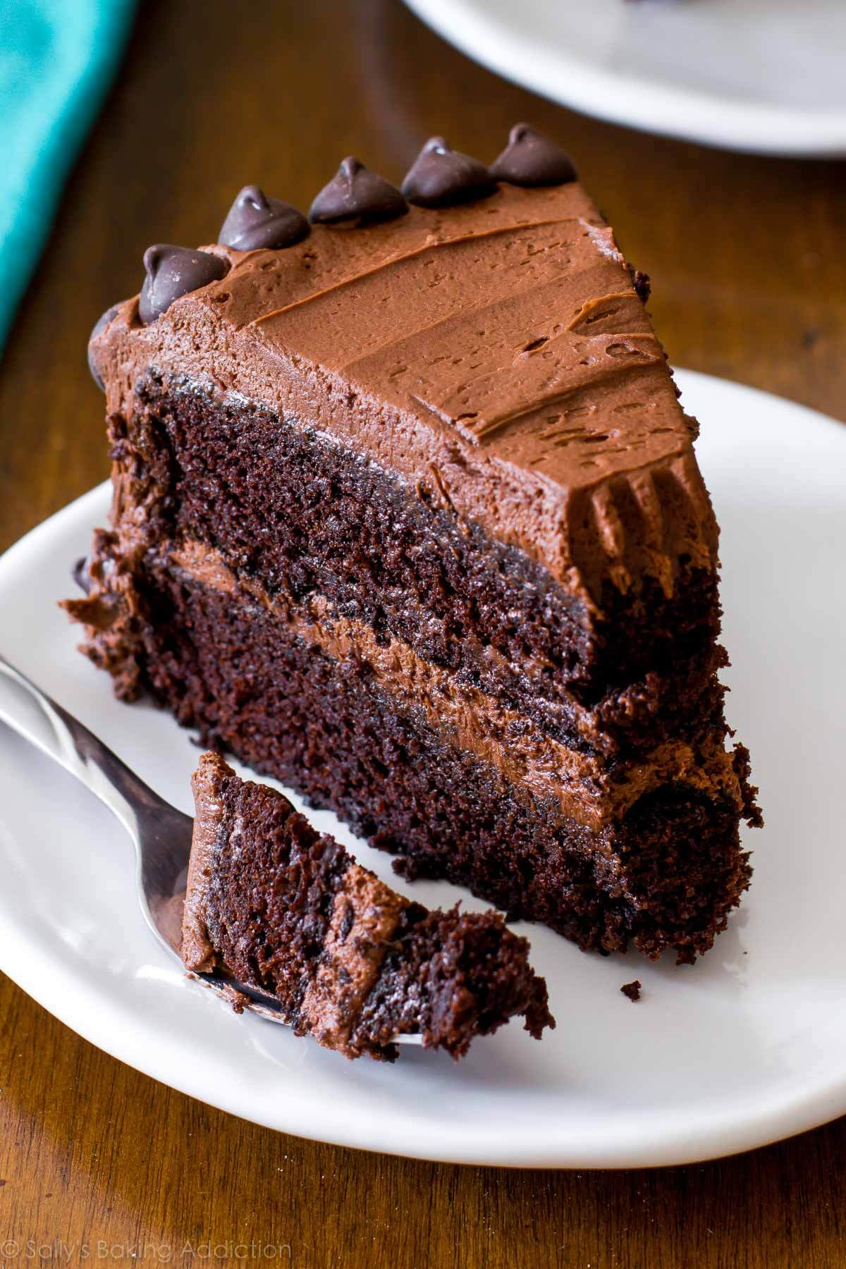 Free Full Screen Fall Wallpaper Triple Chocolate Layer Cake Sallys Baking Addiction