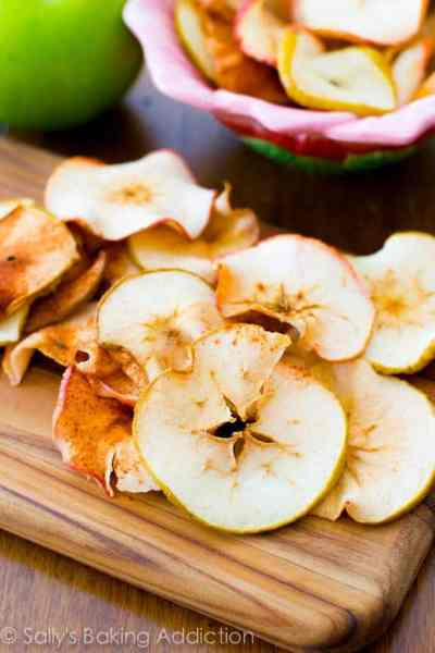 Baked Cinnamon Apple Chips - Sallys Baking Addiction