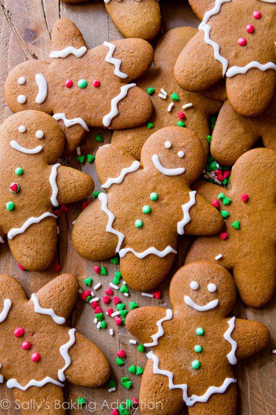 Cute Crisp Wallpapers My Favorite Gingerbread Men Recipe Sallys Baking Addiction