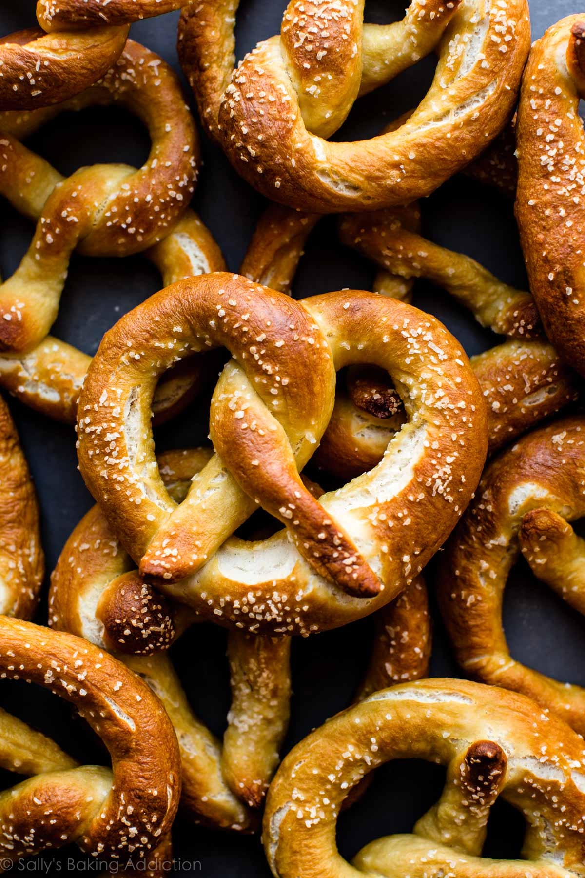 Fall Brithday Wallpaper Easy Homemade Soft Pretzels Video Sallys Baking Addiction