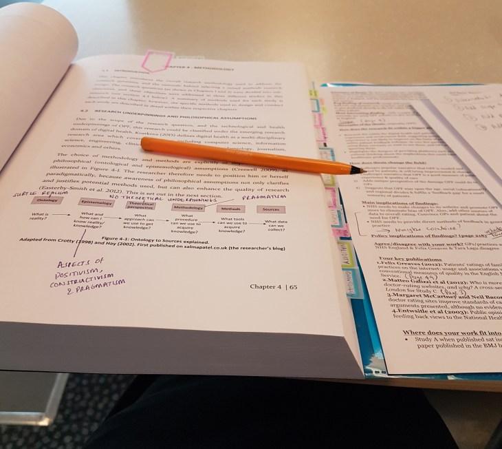 PhD viva exam preparation