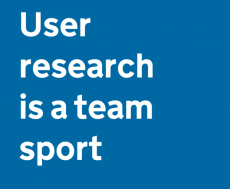 user research team sport